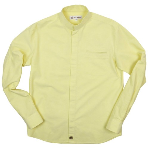 Oxford shirt with Officer collar