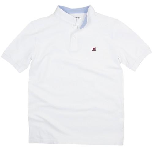 Polo shirt with Mandarin collar